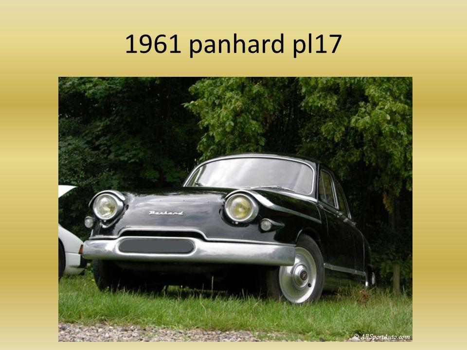 1961 Simca 1000 gl