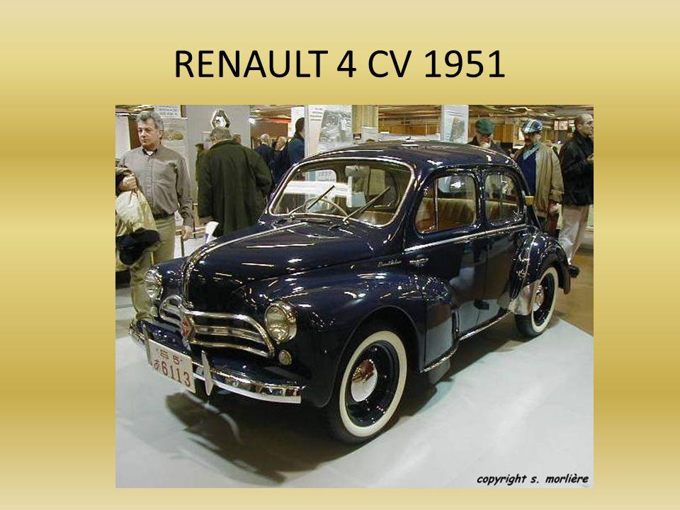 RENAULT 4 CV 1951