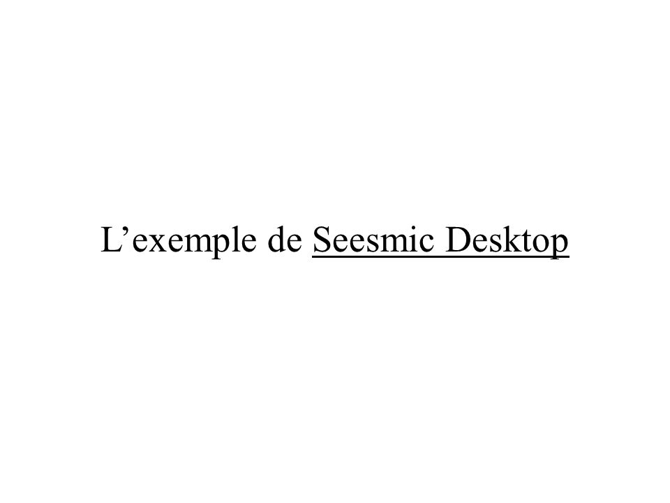 Lexemple de Seesmic Desktop