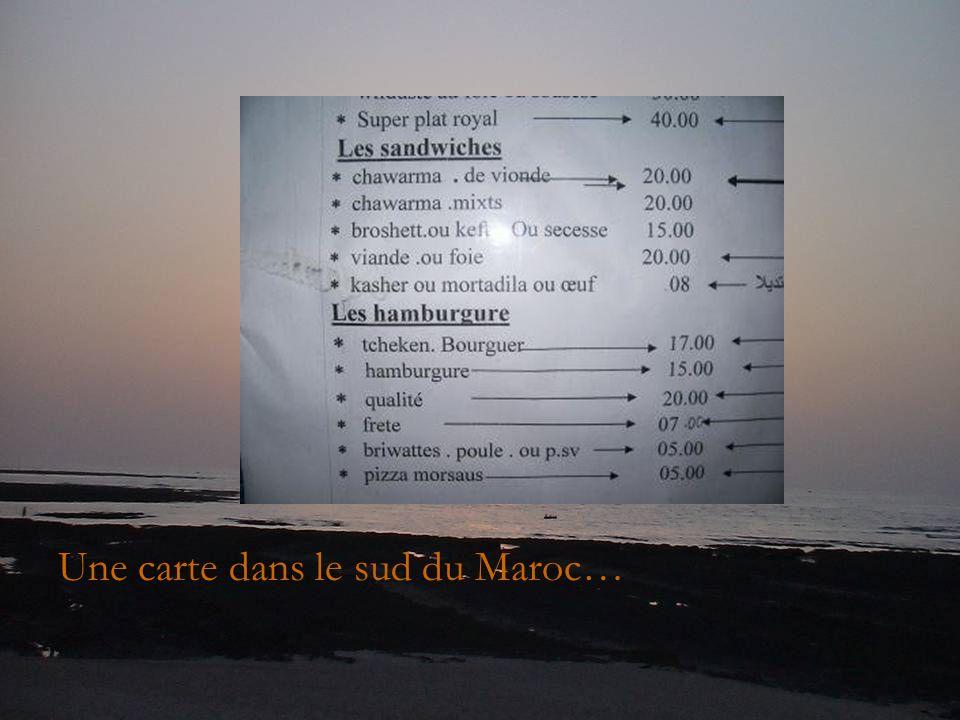 Je pense que vidéo gag devrait faire un petit détour au Maroc...