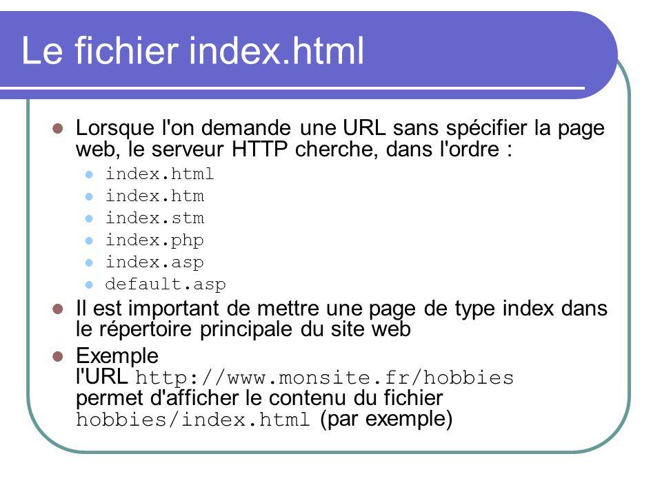 Autres attributs de BODY BGCOLOR : spécifie la couleur de l arrière-plan de la page web Exemple Un peu de texte blanc sur fond bleu