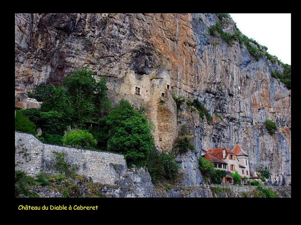 Château du Diable à Cabreret