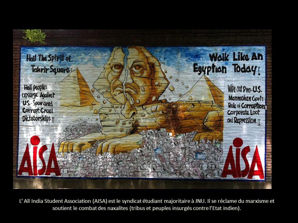 AISA est, de loin, le syndicat le plus créatif, aussi bien pour la quantité des posters réalisés que pour leur contenu.