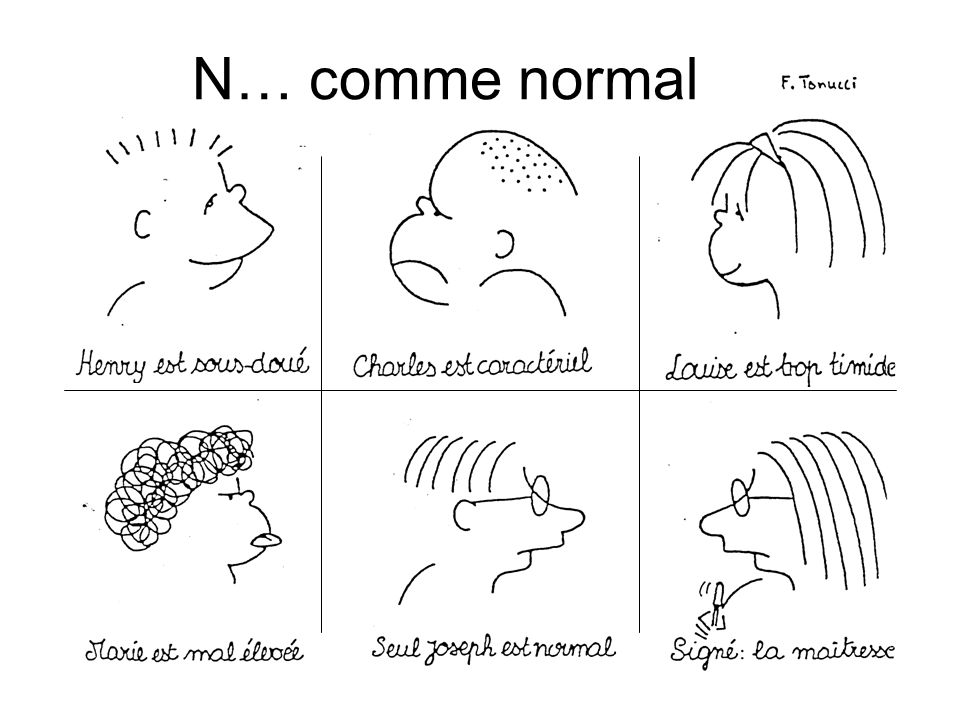 N… comme normal