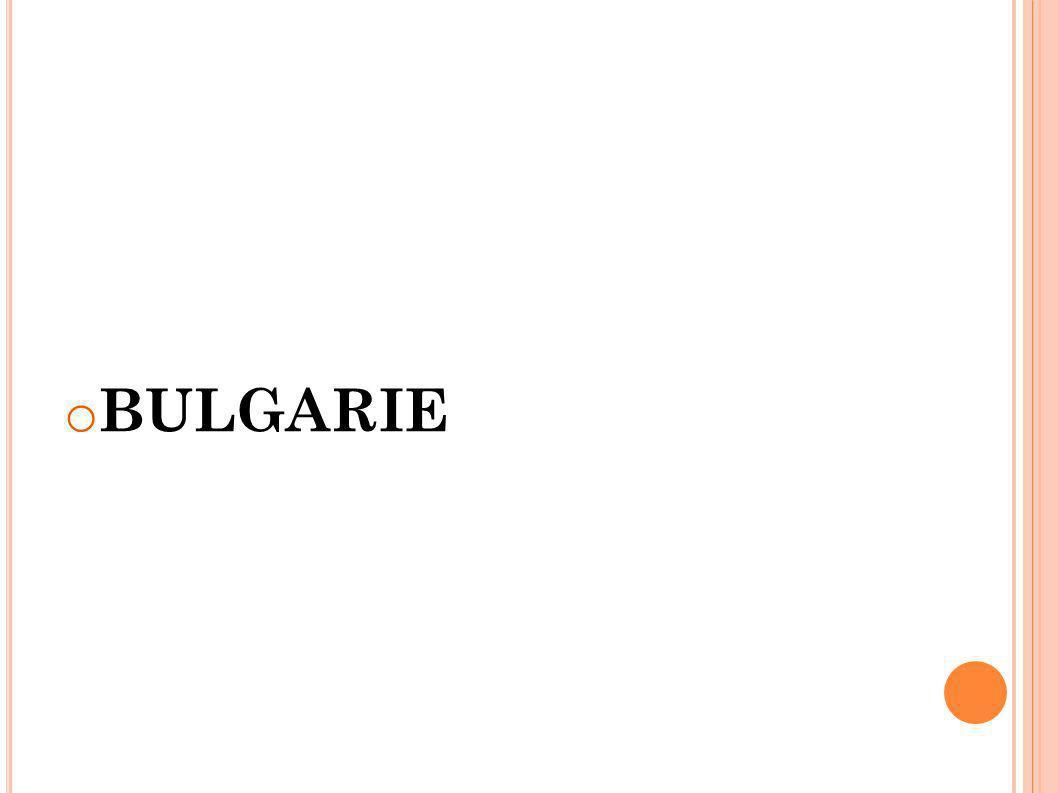 o BULGARIE