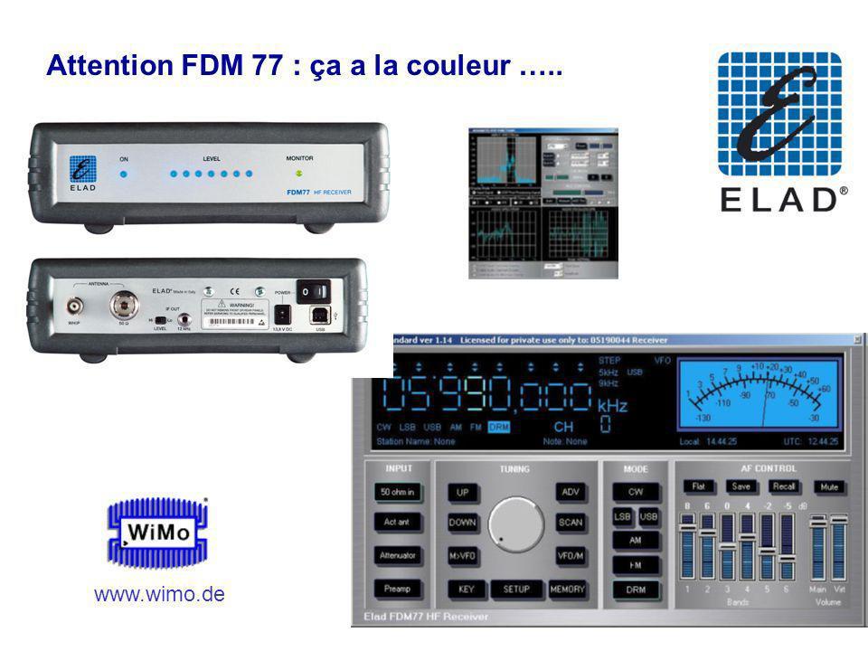 F6AZZ 12 Octobre 2007 Attention FDM 77 : ça a la couleur ….. 1750 www.wimo.de