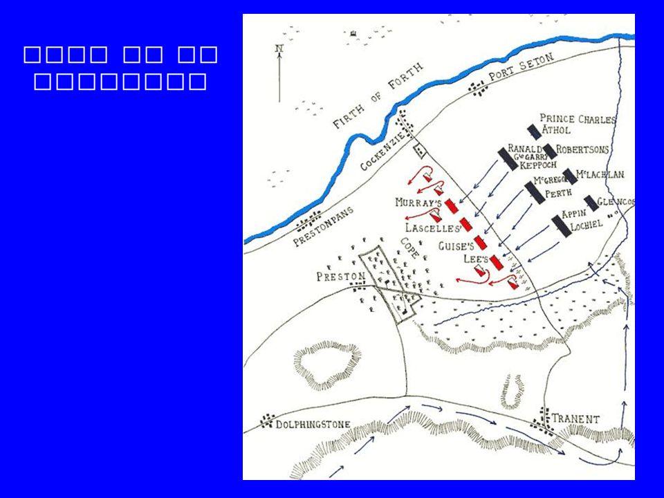 Plan de la bataille