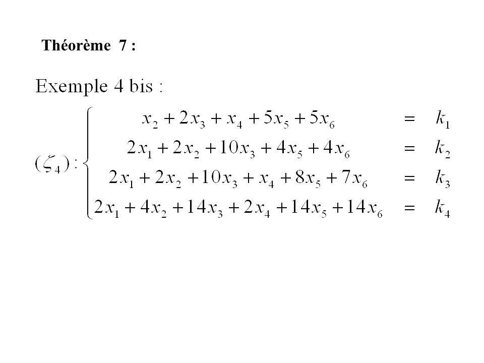 Théorème 7 :