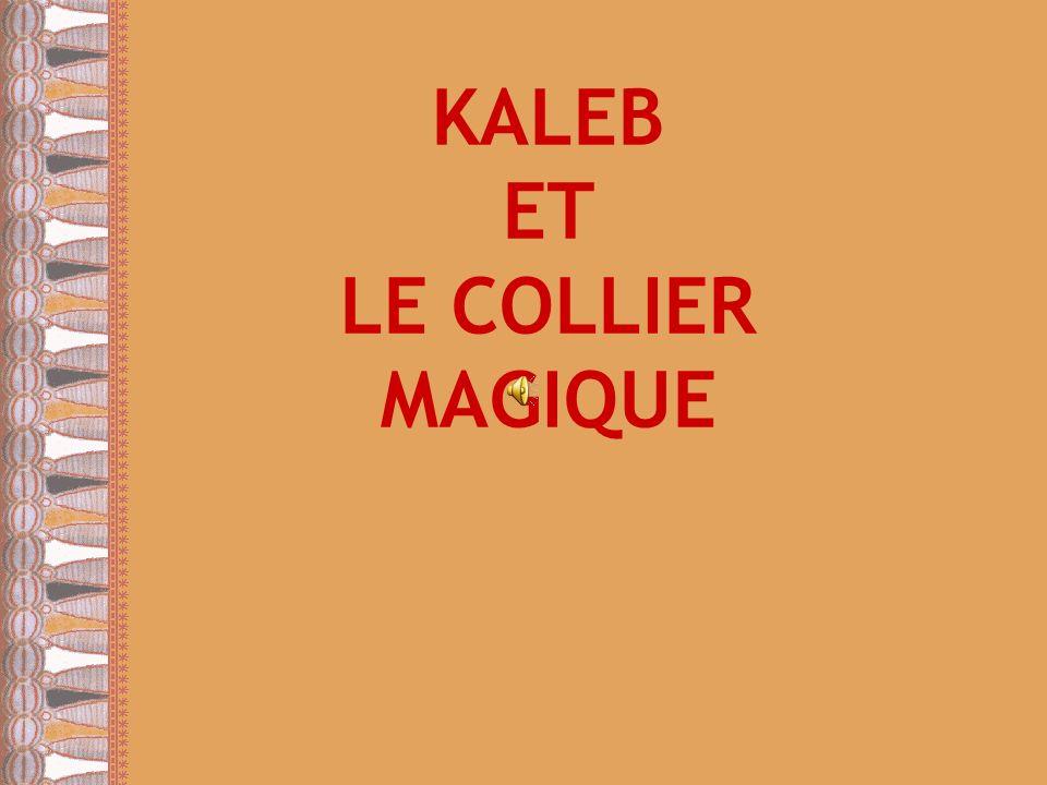 Il y a une dizaine d années, au coeur de lAfrique vivait un jeune homme dénommé Kaleb.
