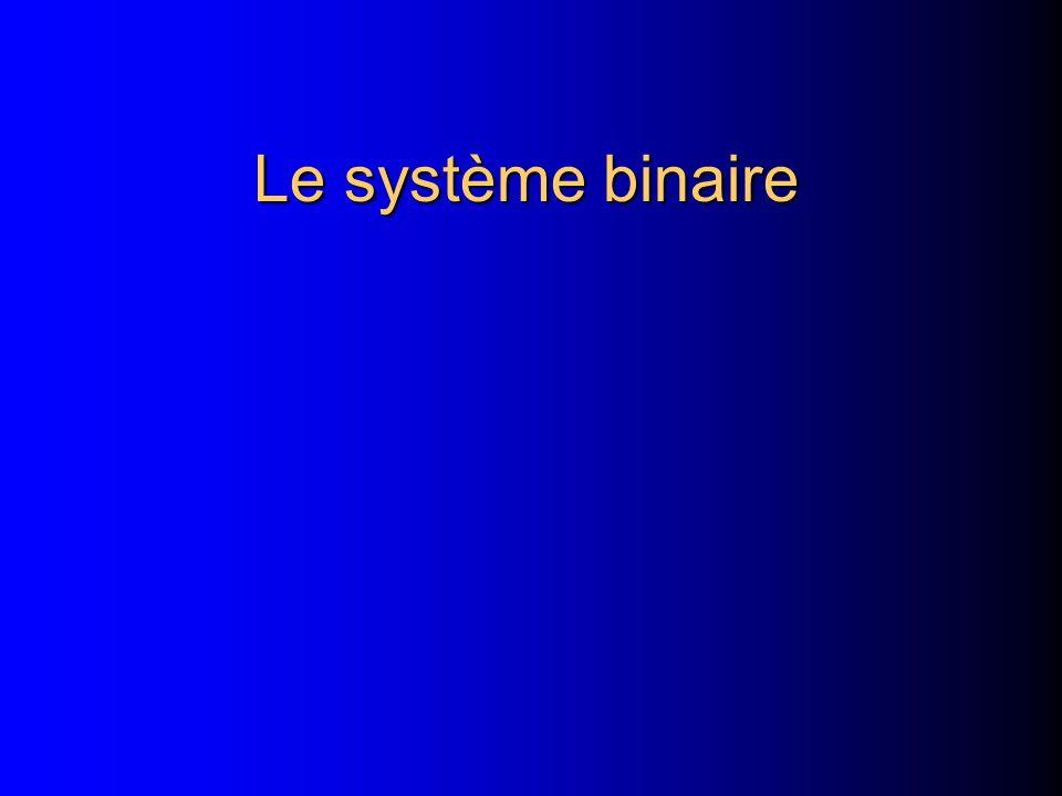 Le système binaire