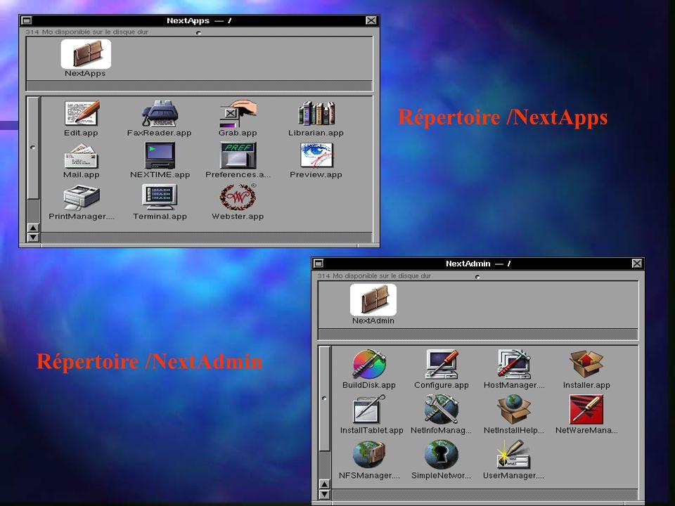 Répertoire /NextApps Répertoire /NextAdmin
