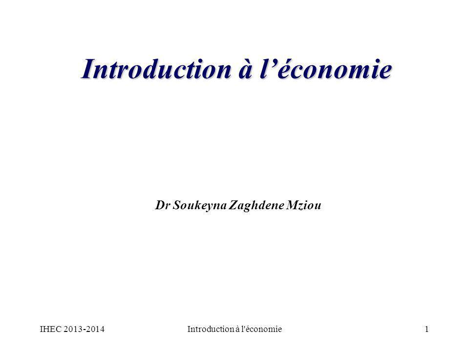 II : Leffet du revenu national sur linvestissement Linvestissement et le revenu national : –Dans lanalyse présente on a supposé que toute chose est égale par ailleurs.