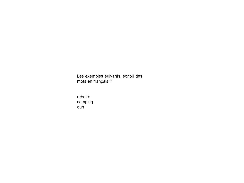 Les phrases suivantes comprennent combien de mots .