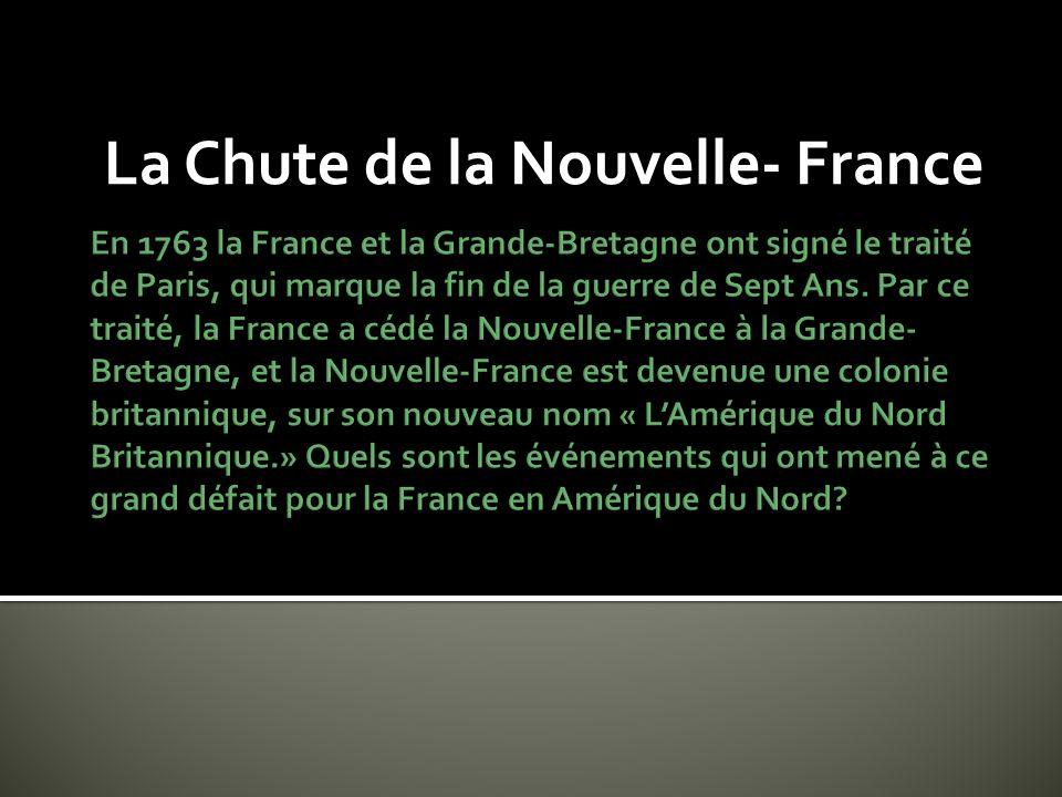 La Chute de la Nouvelle- France
