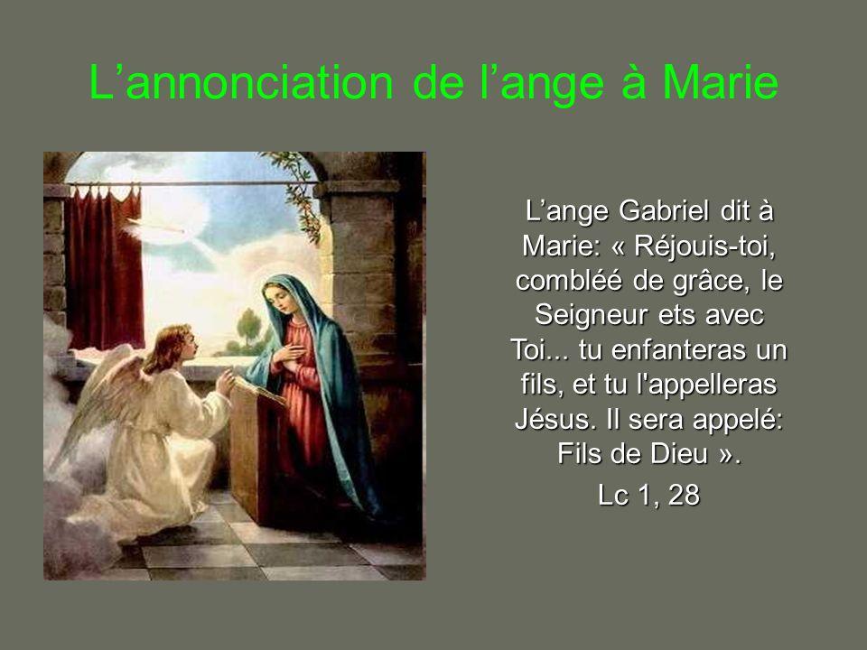 La visitation Dès qu Elisabeth eut entendu la salutation de Marie, que l enfant tressailit dans son sein et Elisabeth fut remplie d Esprit Saint.