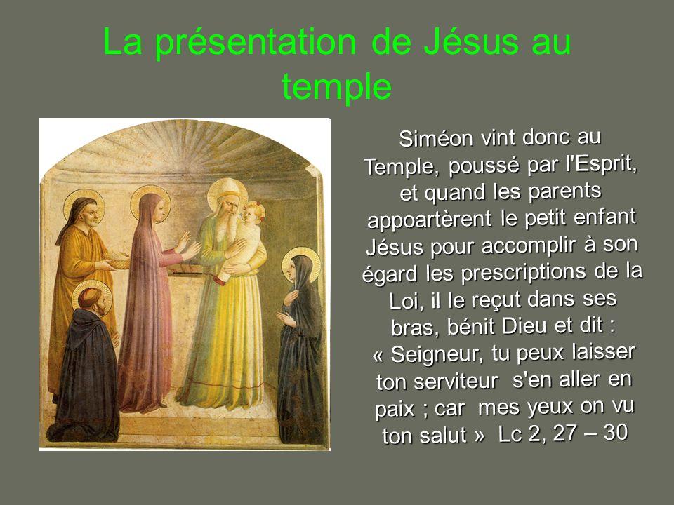 Jésus est retrouvé au Temple Au bout de trois jours, ils le trouvèrent dans le Temple, assis au milieu des docteurs, les écoutant et les interrogeant.