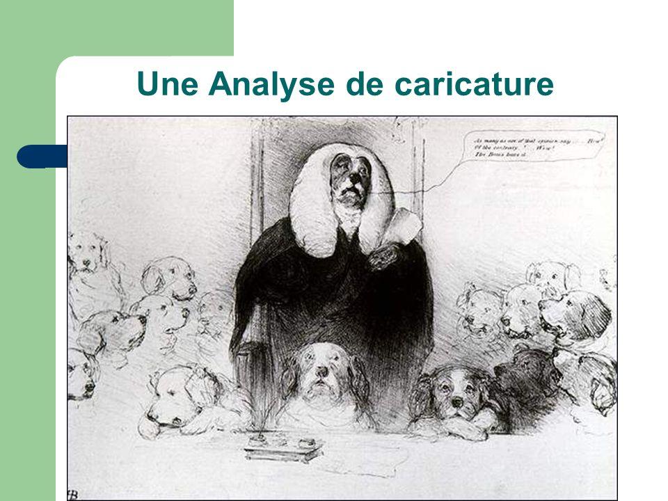 Une Analyse de caricature
