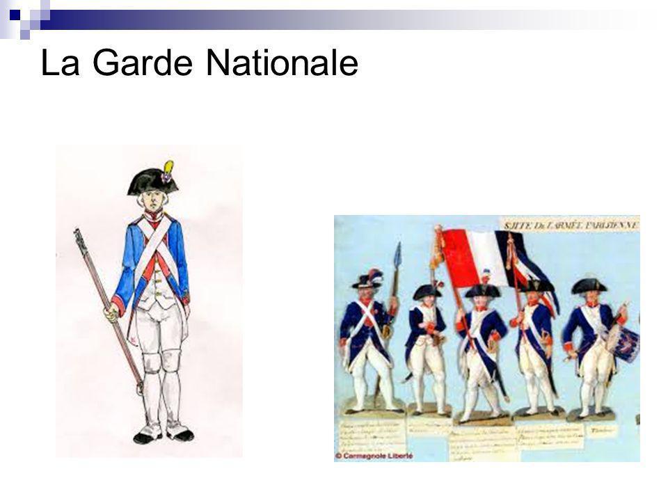 Louis XVI annonce alors le rappel de Necker et la reconnaissance de la Garde Nationale Les partisans de la monarchie absolue commencent alors à émigrer vers les autres monarchies européennes dans lidée de restaurer lordre ancien.