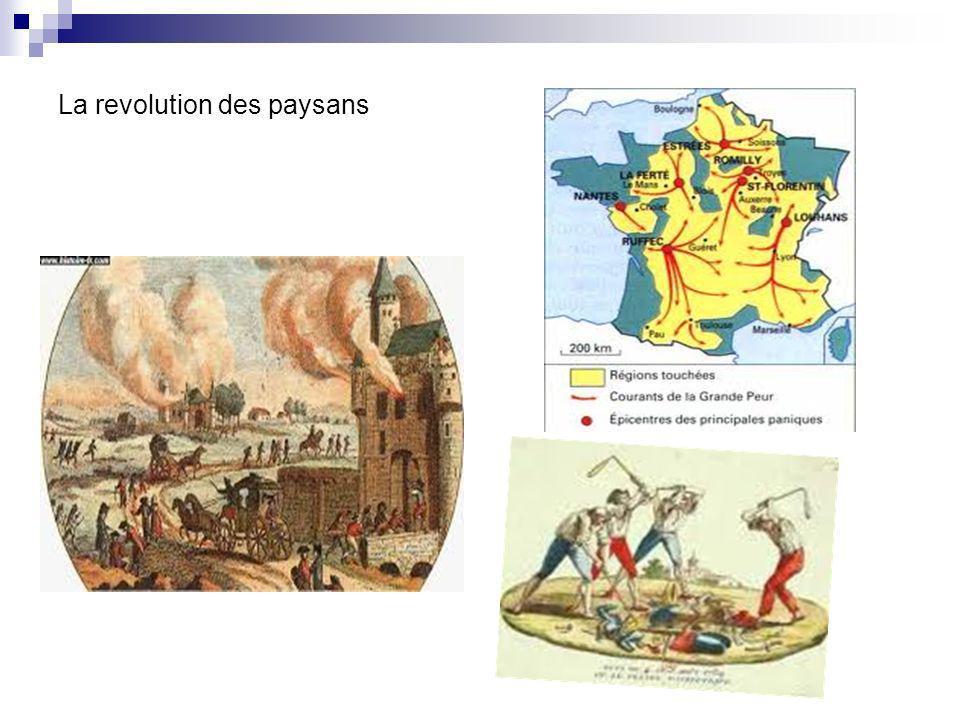 À Paris, les députés sont affolés par lanarchie qui se développe dans le pays.