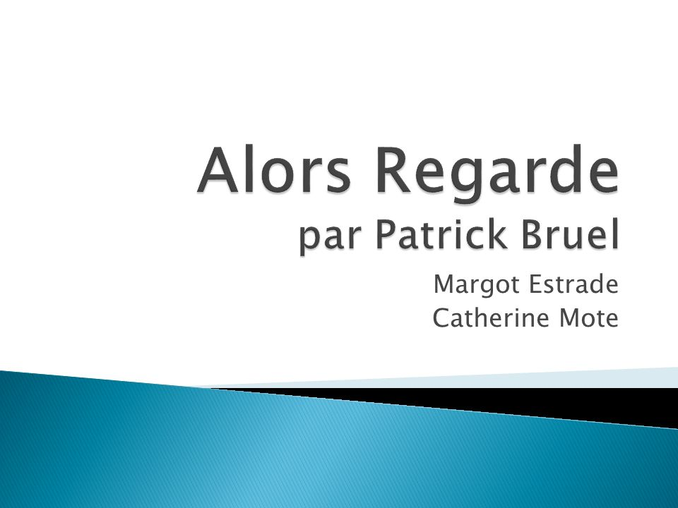 Margot Estrade Catherine Mote