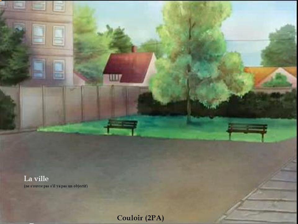 Salle de classe (2PA) Salle de prof (2PA) Club du jardin (1PA) Cour Rue (2PA) 2em couloir(2PA) Club du basket (1PA)