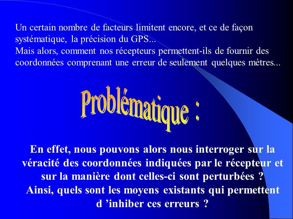 Applications : Le GPS dans les transports aériens Le GPS dans les transports maritimes Le GPS dans les transports routiers Les applications militaires
