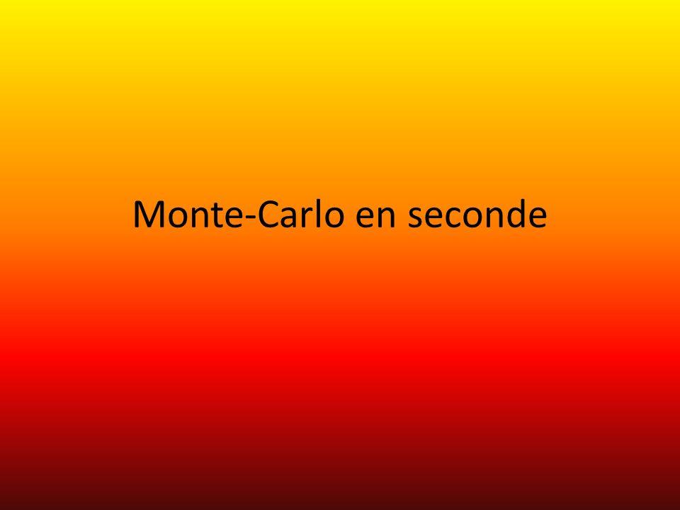 Monte-Carlo en seconde