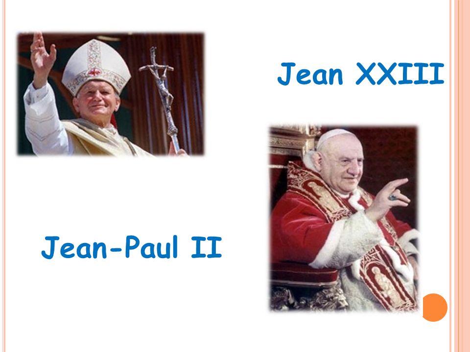 Jean-Paul II Jean XXIII