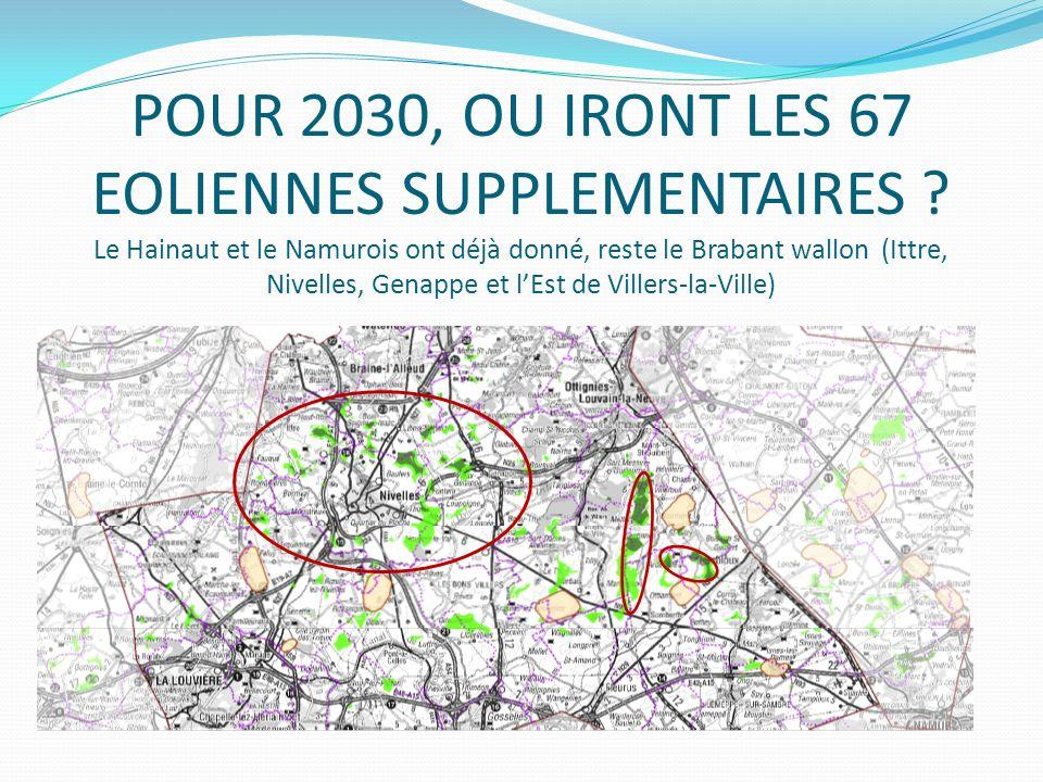 La première carte de février 2013 nous était plus favorable, elle limitait la zone 6 au seul Brabant wallon.