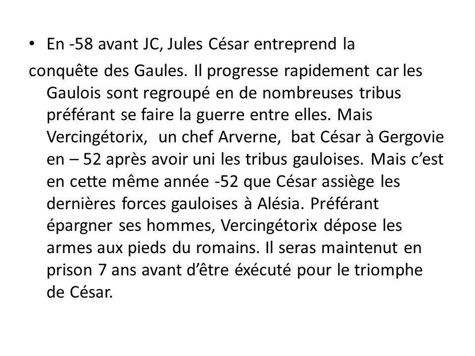 César et Vercingétorix