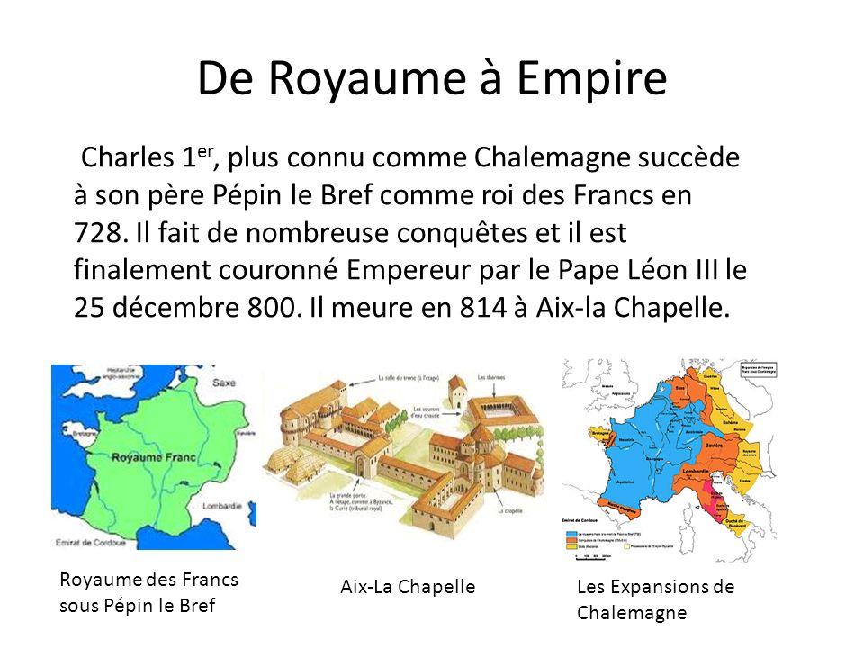 Charlemagne, Empereur des Francs
