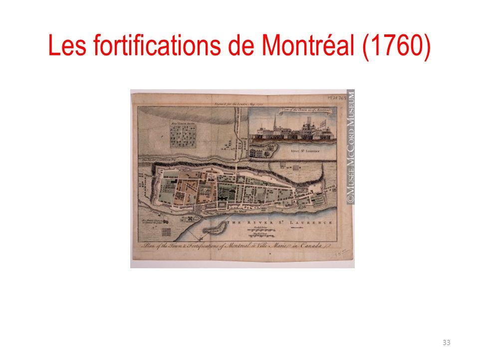 Les fortifications de Montréal (1760) 33