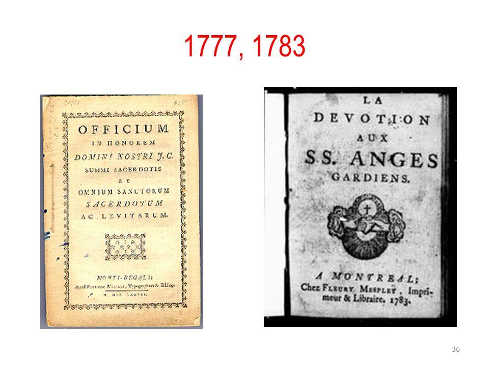 1777, 1783 36