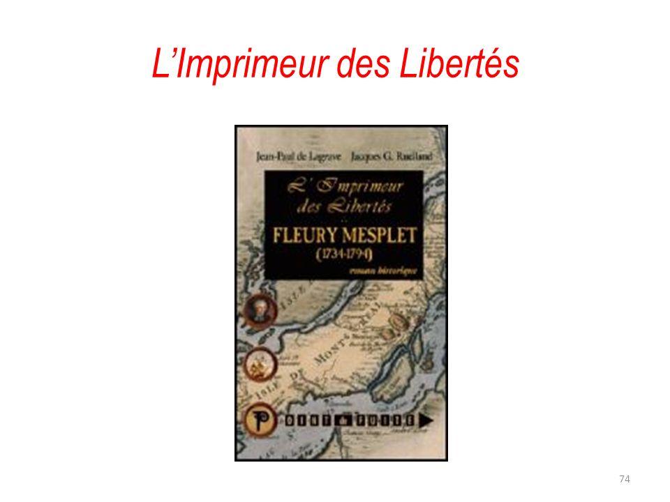 LImprimeur des Libertés 74