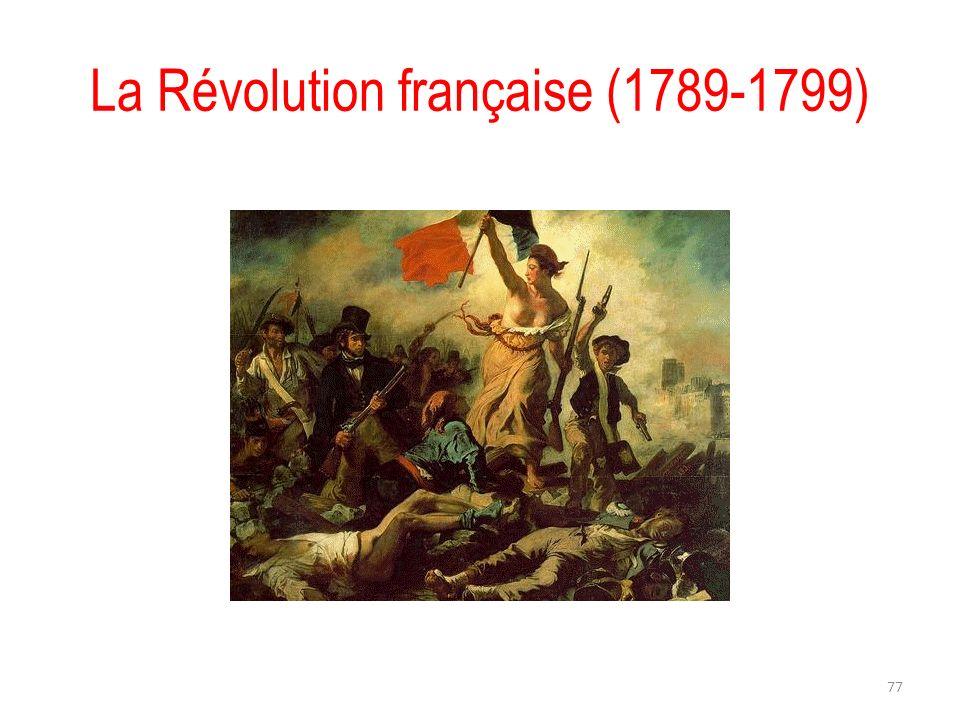 La Révolution française (1789-1799) 77