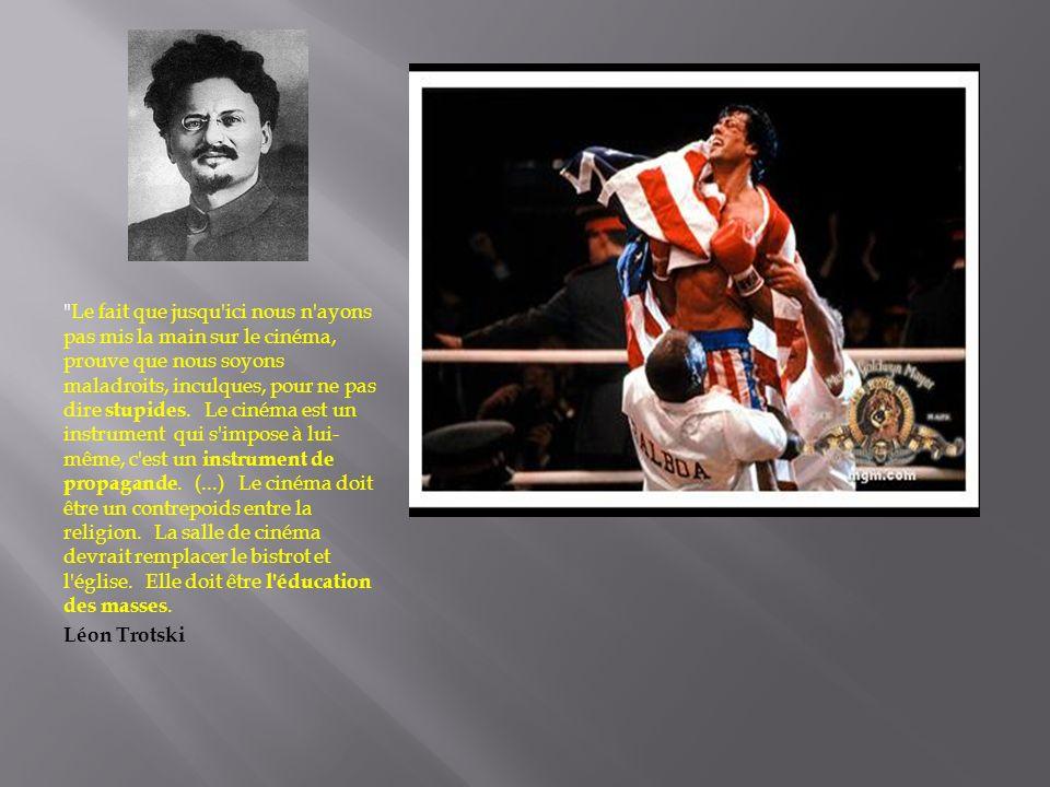 Rocky IV, un film reaganien anti- soviétique .