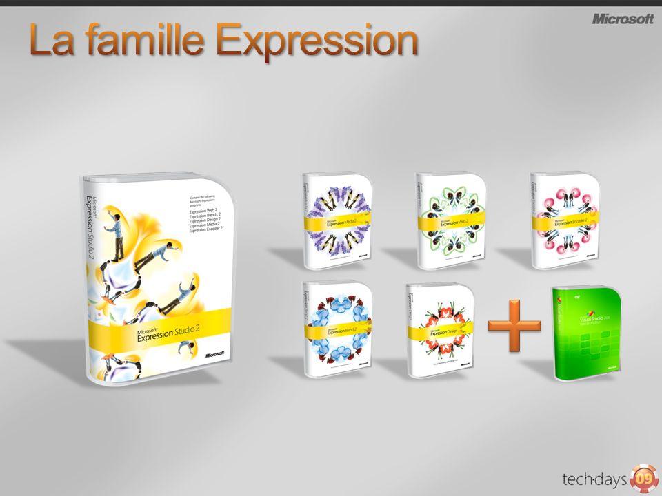 Microsoft Expression Design Microsoft Expression Blend