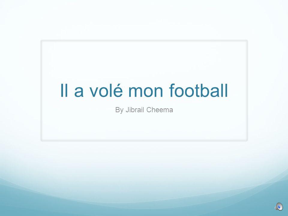 Il a volé mon football By Jibrail Cheema