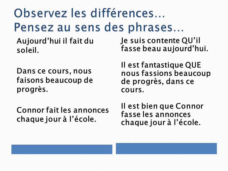 Considérez le message des deux côtés ……….QUELLE EST LA DIFFERENCE??!!