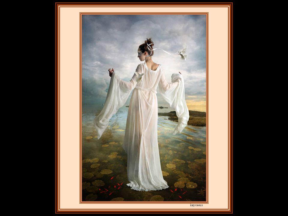 Je lui demandai : «Ô toi, fille des dieux, où donc est partie la Jeunesse?» La Muse ne dit mot, mais elle me prit sur ses ailes et me transporta jusqu au sommet d une haute montagne.