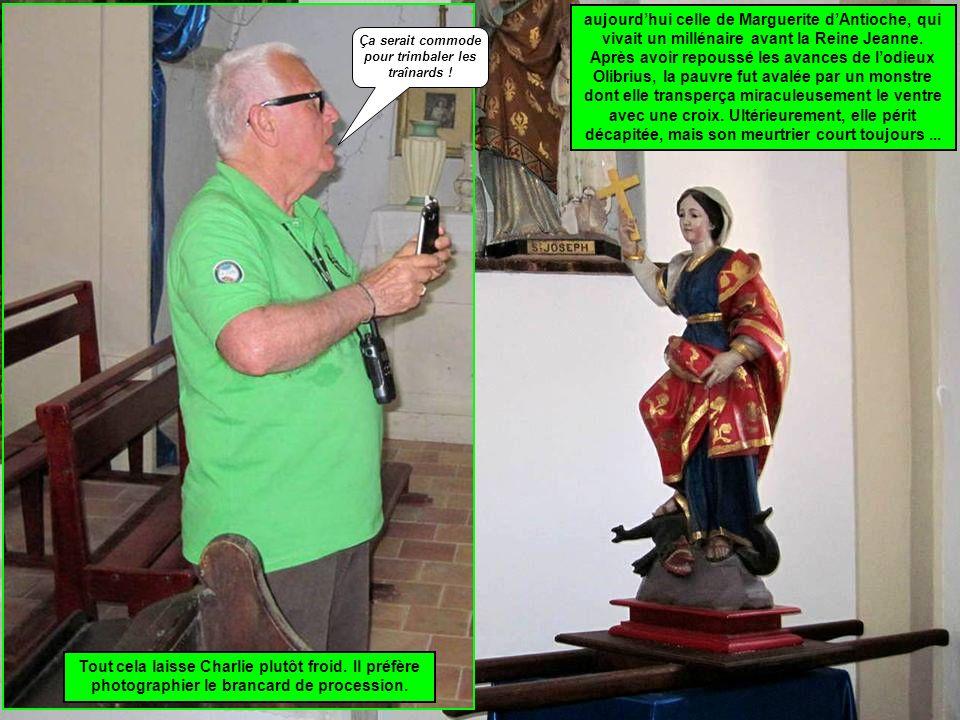 aujourdhui celle de Marguerite dAntioche, qui vivait un millénaire avant la Reine Jeanne.