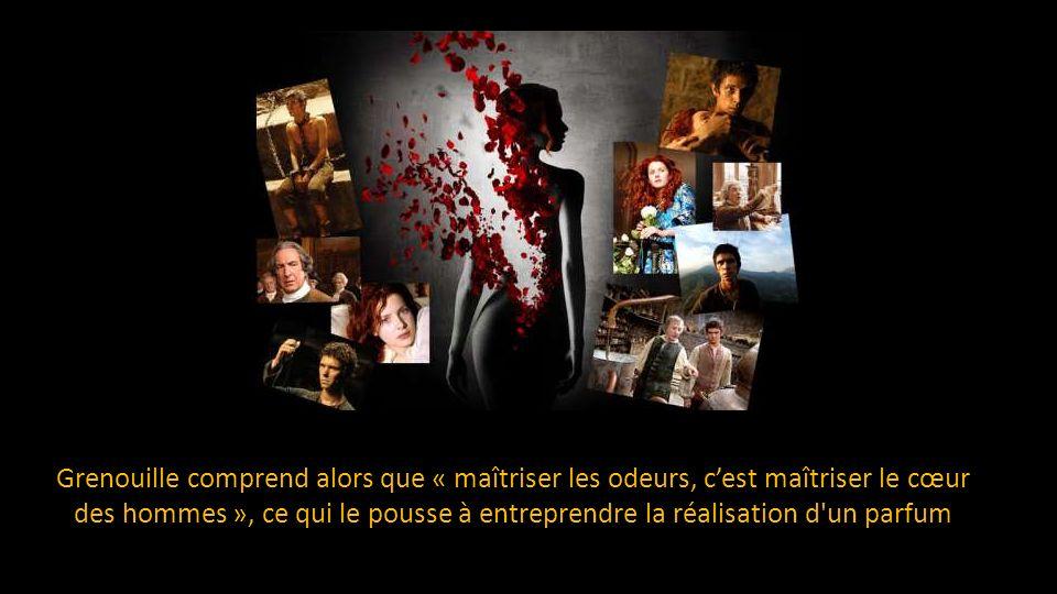 À Montpellier il fabrique un parfum qui lui permet d'avoir une odeur humaine et d'exister pour les autres humains.