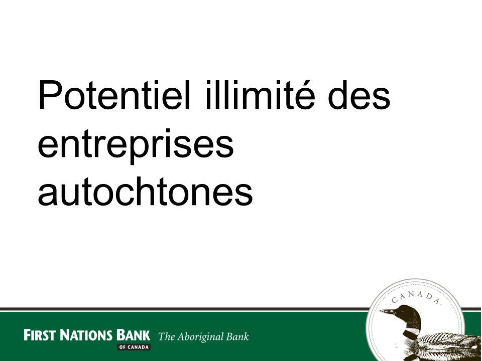 Potentiel illimité des entreprises autochtones