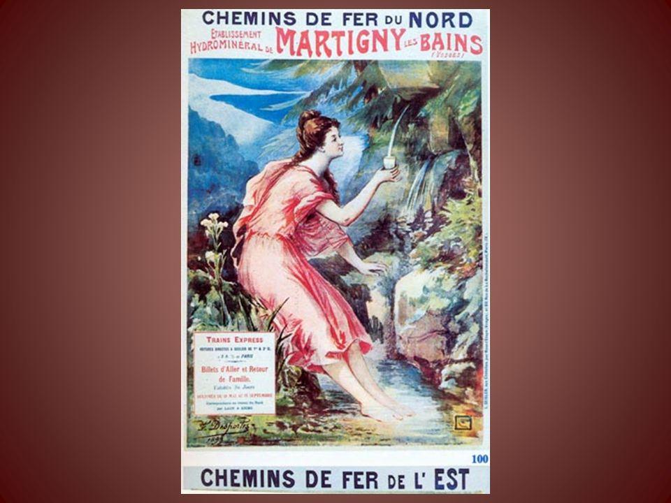 Martigny les Bains était en 1860 le « Versailles Thermal » Leau soignait essentiellement les voies digestives, rénales et infections de la peau. Après
