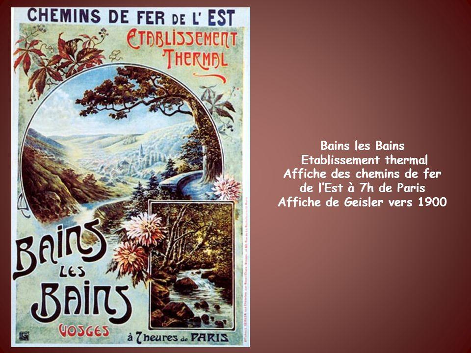 Martigny les Bains, Eaux minérales et source lithinée