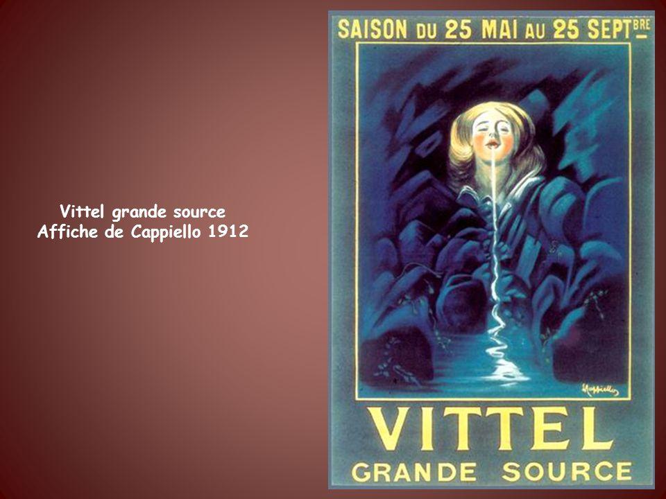 Bains les Bains Etablissement thermal Affiche des chemins de fer de lEst à 7h de Paris Affiche de Geisler vers 1900