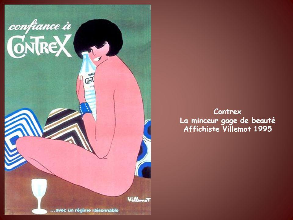 1995 La minceur est dactualité. Affiche Villemot.