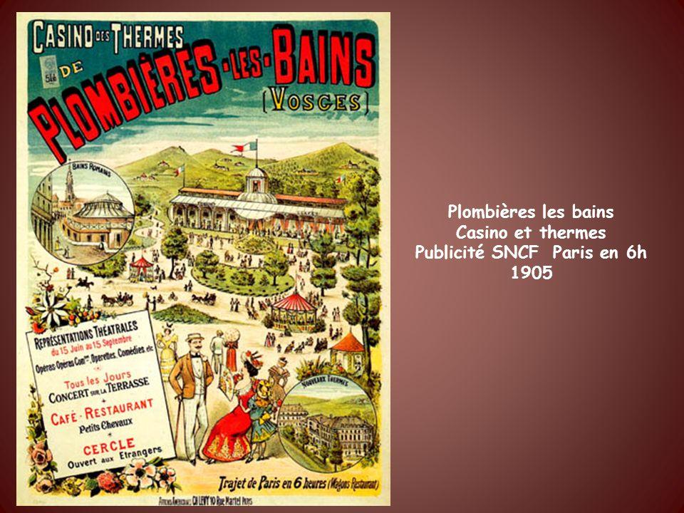 Vittel Campagne thermale Affiche réalisée par Olivier avant la dernière guerre.
