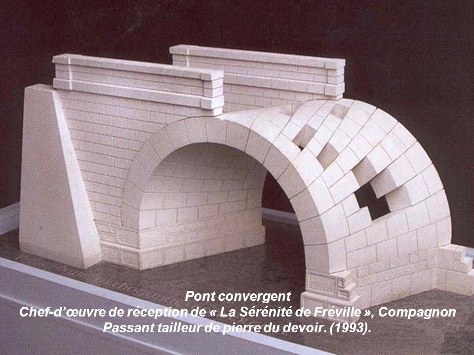 Alphabet des Compagnons Charpentiers.