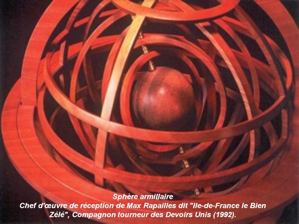 Pont convergent Chef-dœuvre de réception de « La Sérénité de Fréville », Compagnon Passant tailleur de pierre du devoir. (1993).
